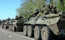 Xe tăng Ukraine tiến vào thị trấn miền đông Mariupol