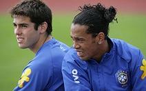 Kaka, Robinho và Ronaldinho bị loại khỏi đội Brazil dự World Cup 2014
