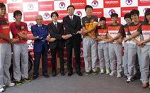 Honda tiếp tục tài trợ cho bóng đá VN