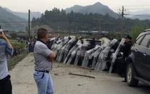Biểu tình tại Trung Quốc, gần 40 người bị thương