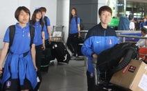 Hai đội tuyển Hàn Quốc và Trung Quốc đến TPHCM