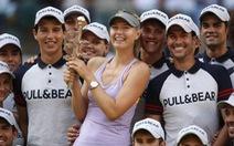 Hạ Halep, Sharapova đăng quang Giải Madrid Masters