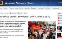 Người Việt Nam khắp thế giới đồng loạt phản đối Trung Quốc