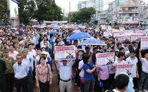 Cần Thơ mittinh, diễu hành phản đối Trung Quốc
