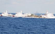 Tàu Việt Nam kiên cường phá vây hàng loạt tàu Trung Quốc