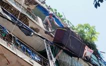Đà Nẵng: di dời khu tập thể bị sập