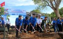 Khởi công xây dựng cột cờ Tổ quốc ở đảo Thổ Chu