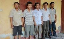 Bắt 5 nghi can trộm cắp tại công trường Formosa