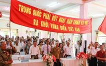 Hội truyền thống đường Trường Sơn phản đối Trung Quốc