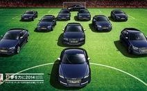 """Sắc lẻm Audi """"võ sĩ đạo"""" thiết kế cho Nhật Bản"""