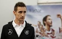 Klose khẳng định sẽ đạt 100% phong độ tại World Cup