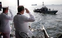 Tổng thống Philippines thị sát căn cứ hải quân ở Palawan