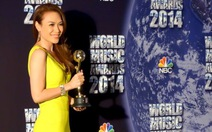 Mỹ Tâm nhận giải World Music Awards