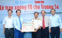 Eximbank tặng xuồng CQ cho hải quân