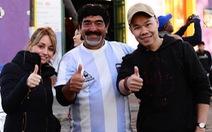 Gặp bản sao Maradona ở Argentina