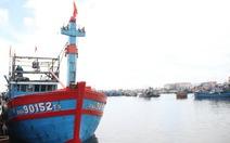 Lai dắt tàu bị đâm chìm vào đảo Lý Sơn