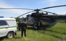 Trực thăng Ukraine bị bắn hạ, 1 tướng và 11 binh sĩ thiệt mạng