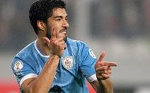 Luis Suarez có tên dự World Cup 2014