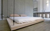 Tiết kiệm không gian với giường treo trần nhà
