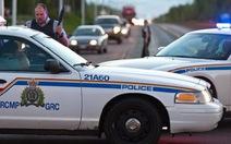 Xả súng ở Canada, 3 cảnh sát thiệt mạng