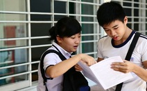 Công bố đáp án chính thức kỳ thi tốt nghiệp THPT 2014