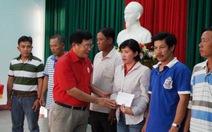 Trung ương Hội Chữ thập đỏ VN hỗ trợ tàu cá bị đâm chìm