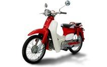 Honda Super Cub - xe 2 bánh đầu tiên được cấp nhãn hiệu 3D