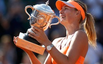 Sharapova kịch tính thắng Halep, vô địch Roland Garros 2014