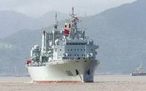 Trung Quốc đưa tàu tiếp tế lớn nhất tới biển Đông