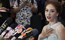 Hoa hậu Thái Lan trả danh hiệu vì xúc phạm phe áo đỏ