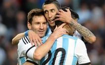 Chỉ mình Argentina hạnh phúc