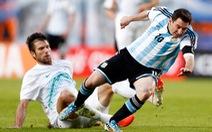 Messi hay ói trên sân vì quá căng thẳng