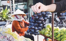 Trung Quốc tuồn nho, chanh, táo... nhiễm độc vào Việt Nam