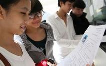 Học sinh bắt đầu nhận giấy báo dự thi ĐH, CĐ