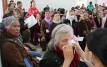 Khám, mổ mắt miễn phí 2.000 người nghèo