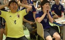 CĐV bóng đá Nhật tan nát con tim