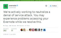 Feedly và Evernote bị tấn công mạng tống tiền