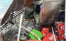 """Bình ga nổ, """"thổi bay"""" quán bia, 6 người bị thương"""