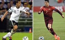 Đức và Bồ Đào Nha quyết đấu