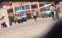 Khai khống học sinh đi xe đưa rước