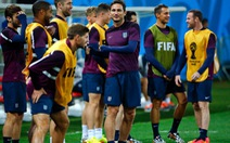 """""""Tuyển Anh sẽ tấn công trước Uruguay"""""""