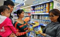 Giá trần bán lẻ sữa tăng 5-12% giá bán buôn