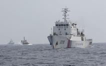 Tàu cảnh sát biển 8003 bị tàu từng tuần tra chung truy cản