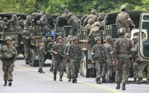 Bắt binh sĩ Hàn Quốc sát hại 5 đồng đội