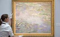 Bức Hoa súng của Monet bán 54 triệu USD