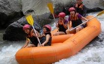 Đến Bali chèo thuyền vượt thác
