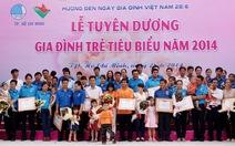 23 gia đình trẻ được tuyên dương sống hạnh phúc
