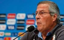 """HLV Tabarez: """"FIFA phạt nặng Suarez vì sức ép của truyền thông"""""""