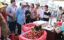 Trái cây mùa... dội chợ
