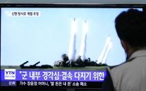 CHDCND Triều Tiên bắn hai tên lửa đạn đạo